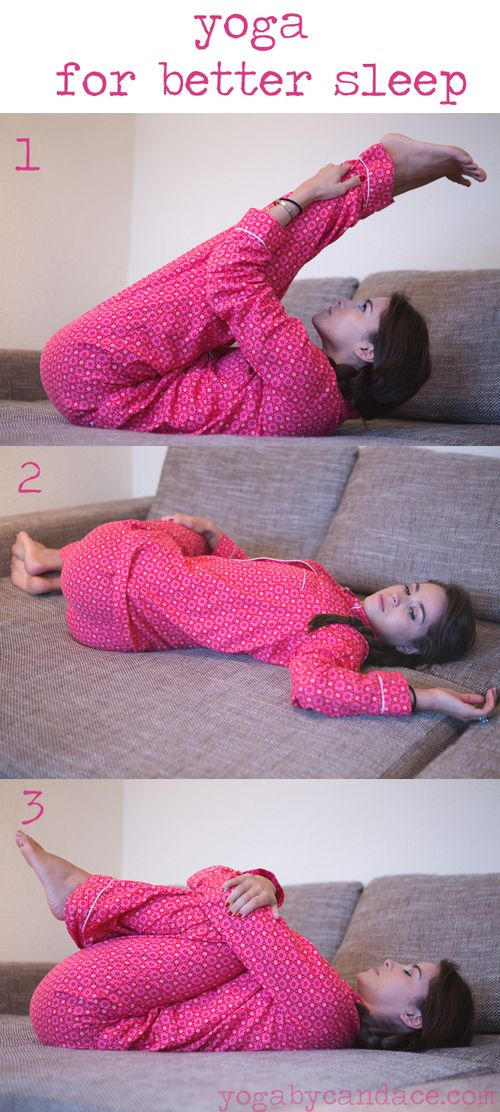 3 Yoga Poses for Better Sleep. If your kids love doing yoga with you they can do these poses, too, and have a better night's sleep.