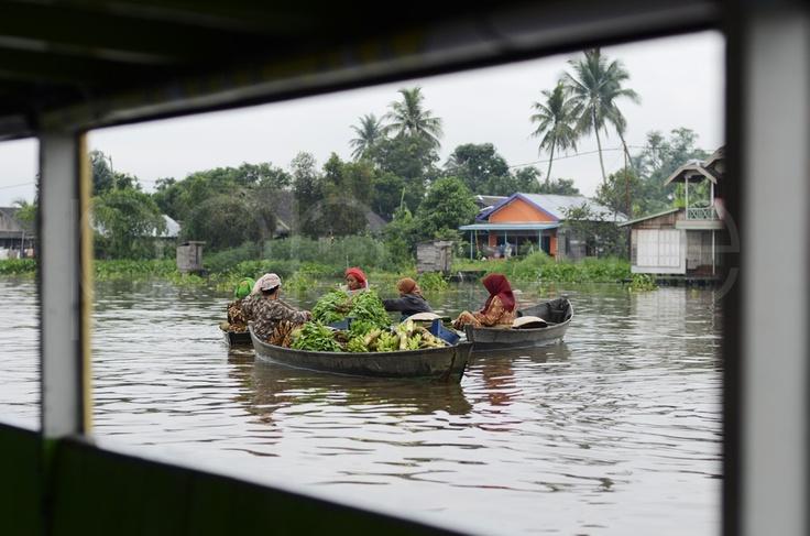 Floating Market, Kuin, Banjarmasin