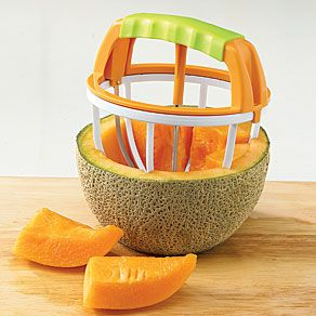 How cool is that??  Melon Cutter