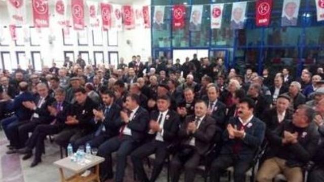 MHP Sandıklı ilçe kongresi yapıldı