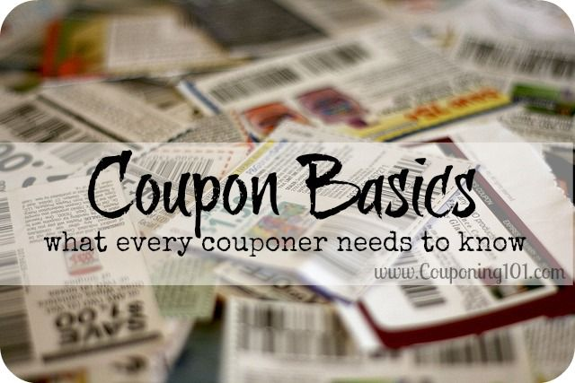 Every new couponer should read this! Super basic info every couponer needs to know!