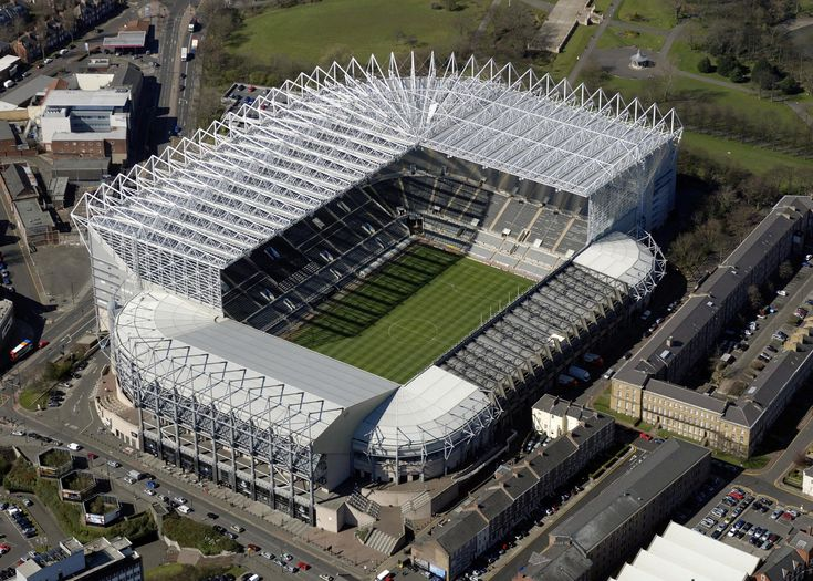 St James Park - Aerial - Newcastle United FC