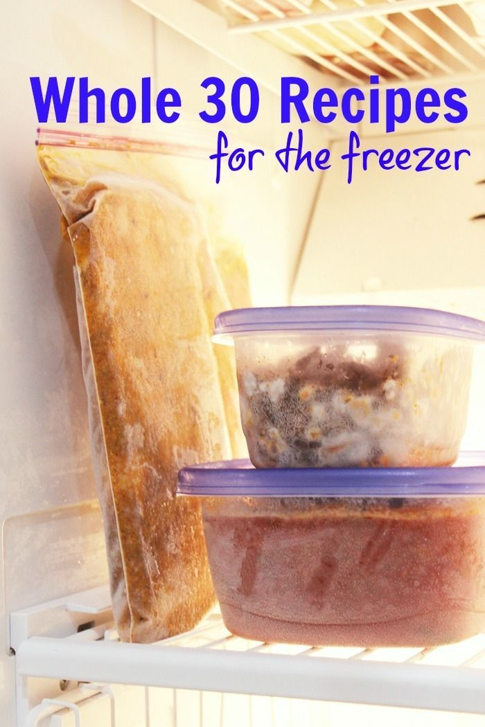 Whole 30 Recipes You Can Freeze | Good Cheap Eats  Want to eat healthfully without fussing in the kitchen? Enjoy easy meals that are good for you, too, with these Whole 30 recipes you can freeze.  http://goodcheapeats.com/2016/09/whole-30-recipes-you-can-