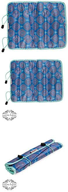 Nanette Lepore Bags. Nanette Lepore Jewelry Roll (Blue Baroque/Light Pink).  #nanette #lepore #bags #nanettelepore #leporebags