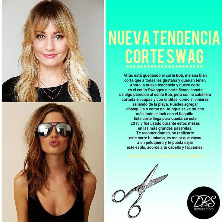 El corte Swag es la nueva tendencia y en este pin te contamos en qué consiste ya que llega para quedarse este 2015 <3 #DBS #Swag #Haircut