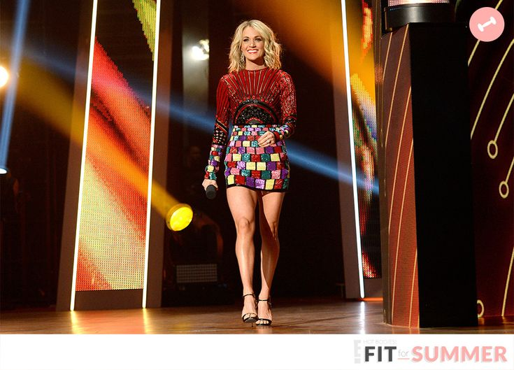 We have some good news and some bad news. Legs like Carrie Underwood's are not god-given, but dea...