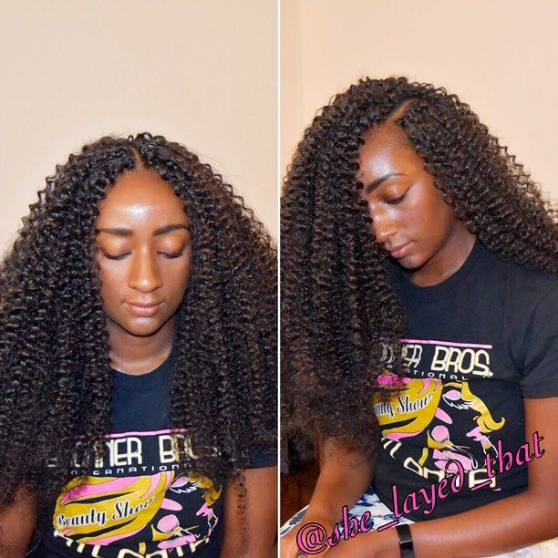 Crochet braids using 2 and a half packs of Freetress water wave | can be worn…