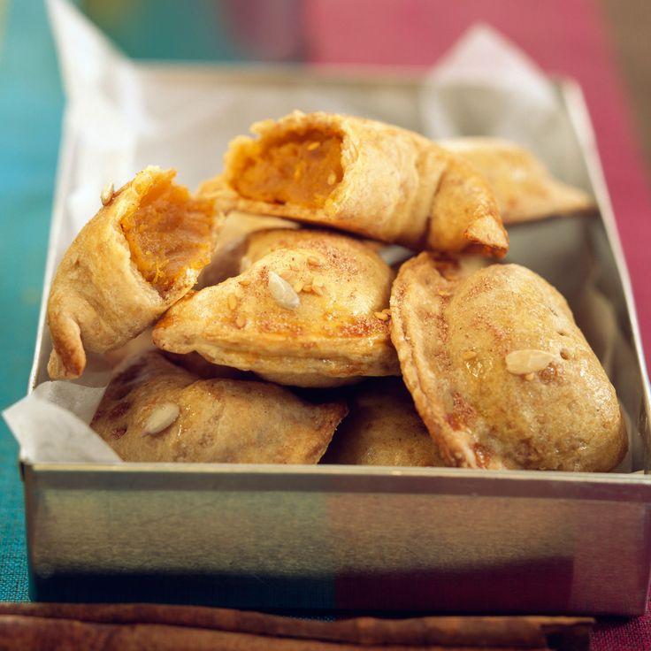 Découvrez la recette des chaussons à la patate douce