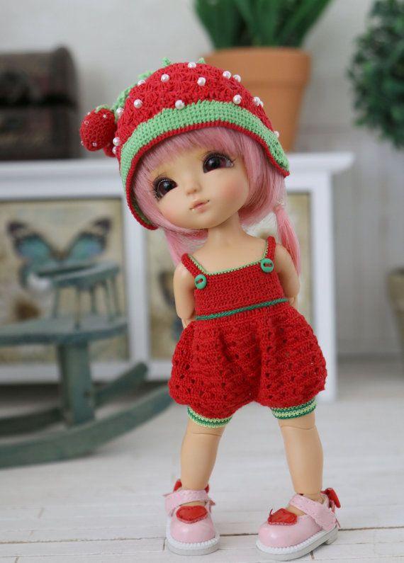 Strawberry Set  for pukifee /Lati yellow
