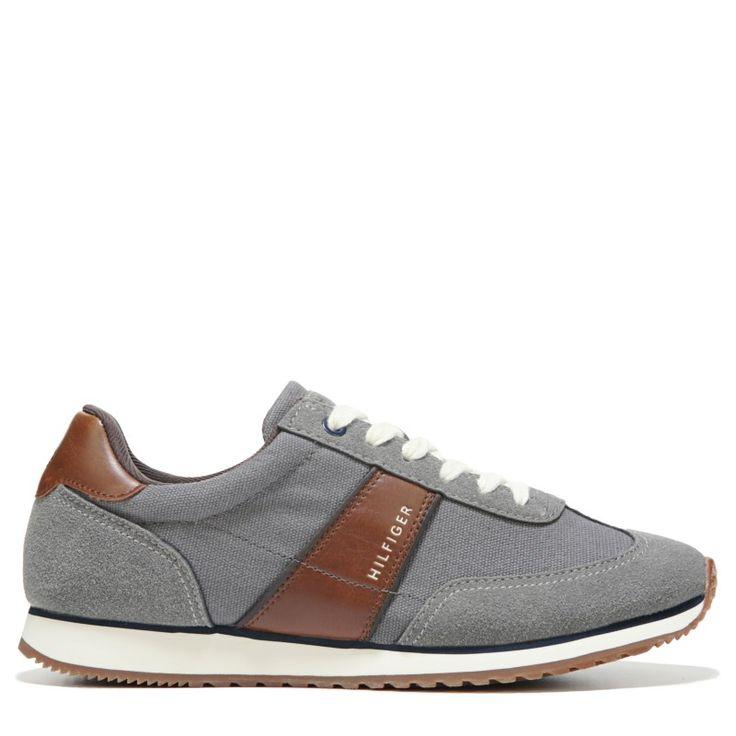 Tommy Hilfiger Men's Modesto Retro Jogger Shoes (Cloudburst/Tm Cognac)