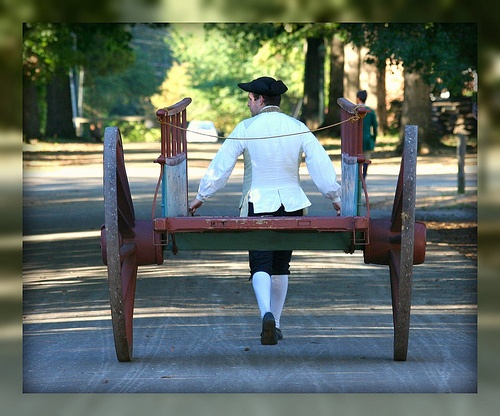 Awesome Living In Williamsburg, Virginia: Colonial Cart Man, Colonial Williamsburg,  Williamsburg, Virginia