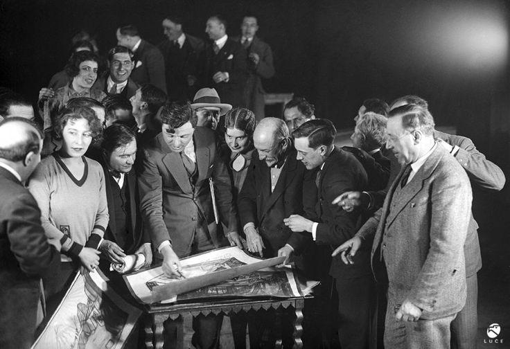 Luigi Pirandello al Teatro Argentina: le foto capolavoro dell'Istituto Luce