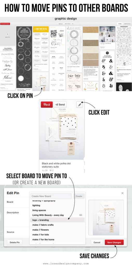 newly organized pinterest boards (and how I did it)