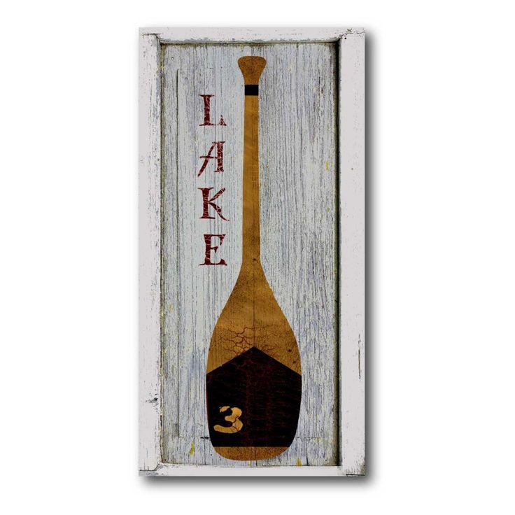 Rowing Club III Canvas Wall Art - 12W x 24H in. - WEB-NC107