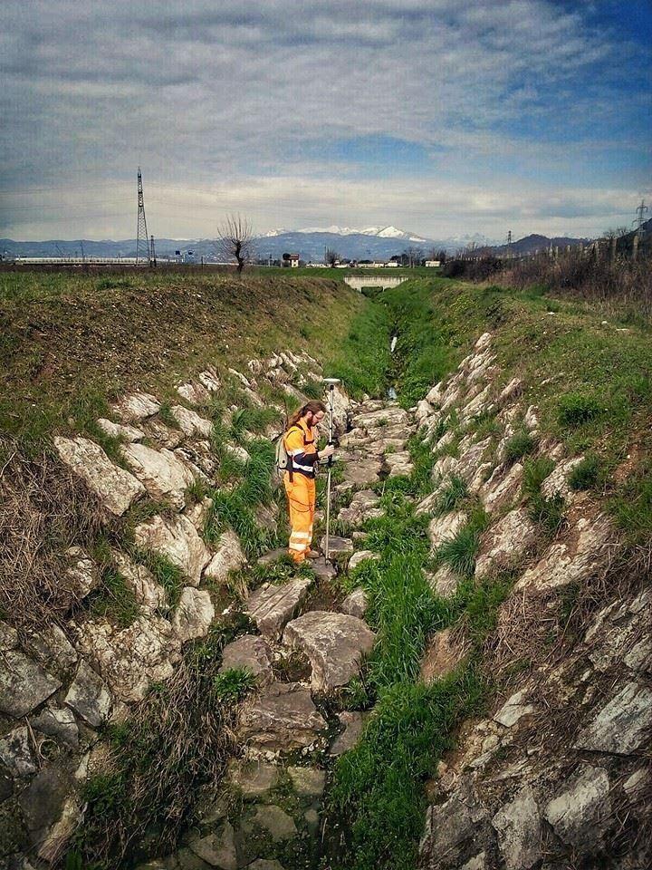 #rilievo #surveying #acquedelchiampo