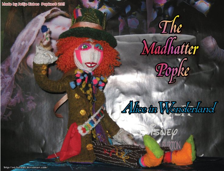 Alice in Wonderland - The Madhatter Popke