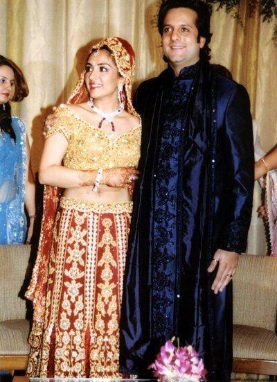 Fardeen Khan with Natasha