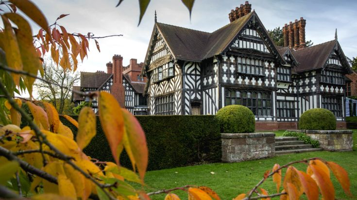 National Trust's Wightwick Manor and Gardens, West Midlands, is a Victorian manor and home to a Pre-Raphaelite art collection.