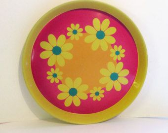 Popular items for retro trays on etsy aydenne 39 s room for Vintage sites like etsy
