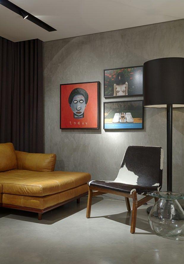 Apartamento pequeno em Belo Horizonte ganhou reforma totalmente inspirada na moda.