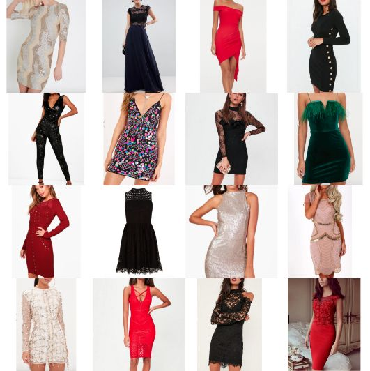 What To Wear For New Years Eve / 16 Dresses on a Budget by carlyccxx
