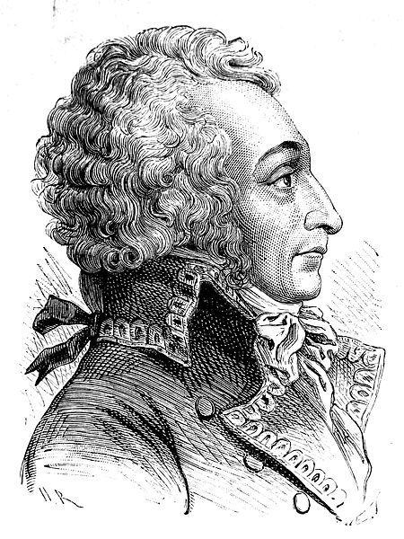 Alessandro di Beauharnais.Tramite il figlio Eugenio egli puo' considerarsi imparentato con molte case Reali Europee.