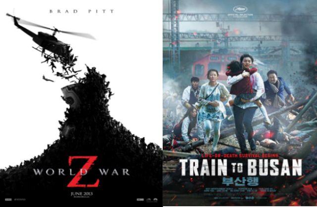 Train To Busan VS World War Z - Comparison