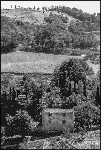 Il podere Masera dove i briganti uccisero il giovane Domenico Bernabei dopo aver sterminato la famiglia Lombardi al Casetto