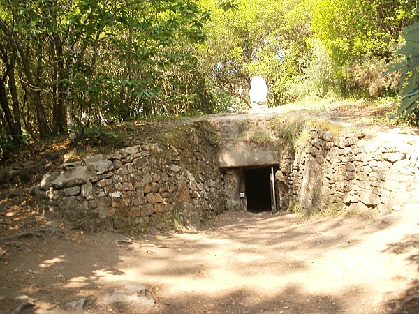 Le Tumulus De Kercado - Carnac,  Bretagne (Brittany), France   (a tumulus is a mound of dirt over a burial site)