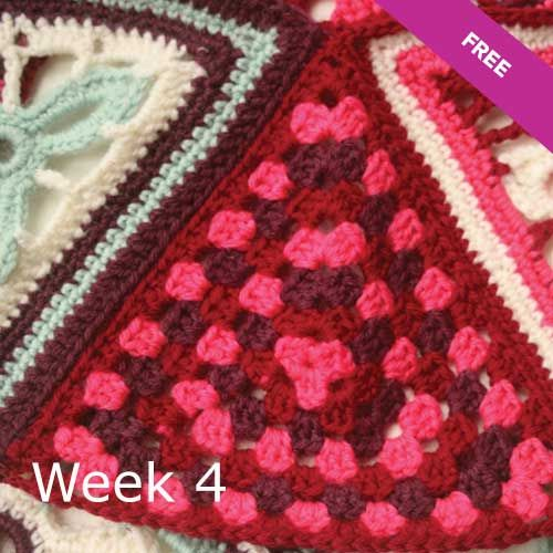 Watch this video and learn how to crochet the borders and add the tassels to complete your Patons crochet along Afghan blanket pattern.