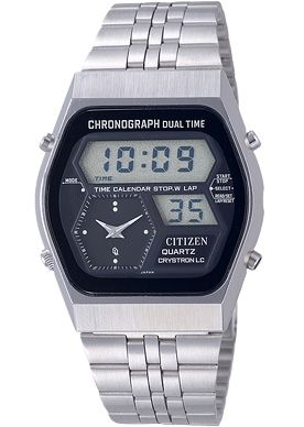"Citizen ""Digi-Ana"" 1st Model, Crystron 41-9010, 1978"
