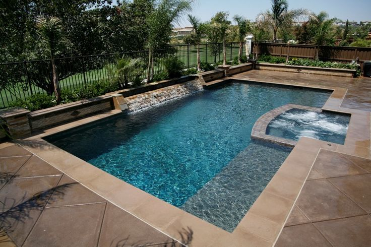 118 best geometric pool designs images on pinterest for Pool design orange county