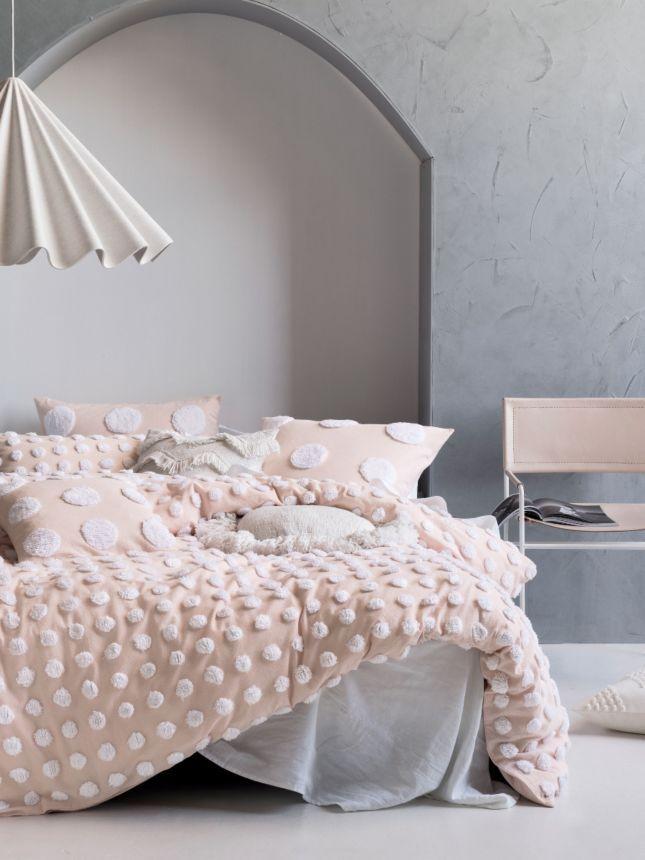 Haze Pink White Quilt Cover Set White Quilt Cover Bed Quilt Cover Quilt Cover Sets