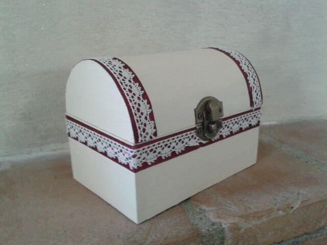 Bauletto porta oggetto stile shabby chic_By Vale Decò