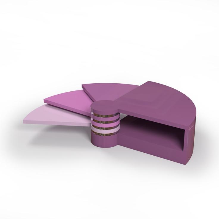 Pierre cardin forme eventail table sculptures utilitaires pierre cardin pinterest - Chaise cobra studio pierre cardin ...