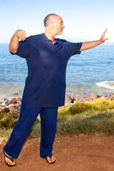 Dragon and Tiger Qigong Movement 2 as demonstrated by Bruce Frantzis