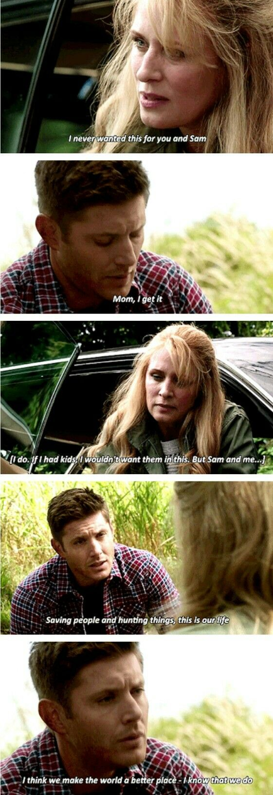 Dean Winchester Season 12...back in the family business with the family