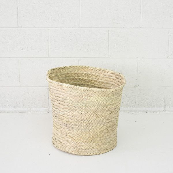 Moroccan High Storage Basket