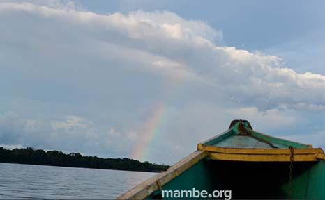 Una tarde en el río Amazonas. #Viajes Descubre la Colombia profunda con Mambe.org!