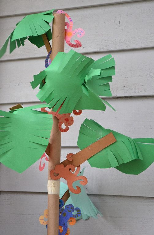 A Tree Of Monkeys Craft For Kids
