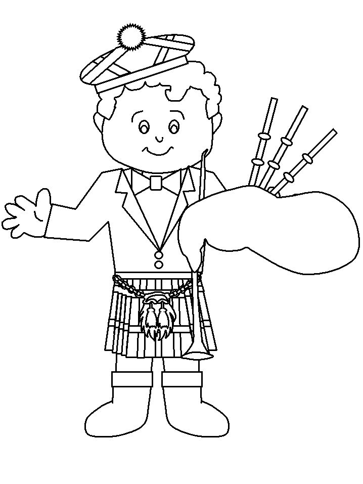 scotland coloring pages - Searchya - Search Results Yahoo Search Results