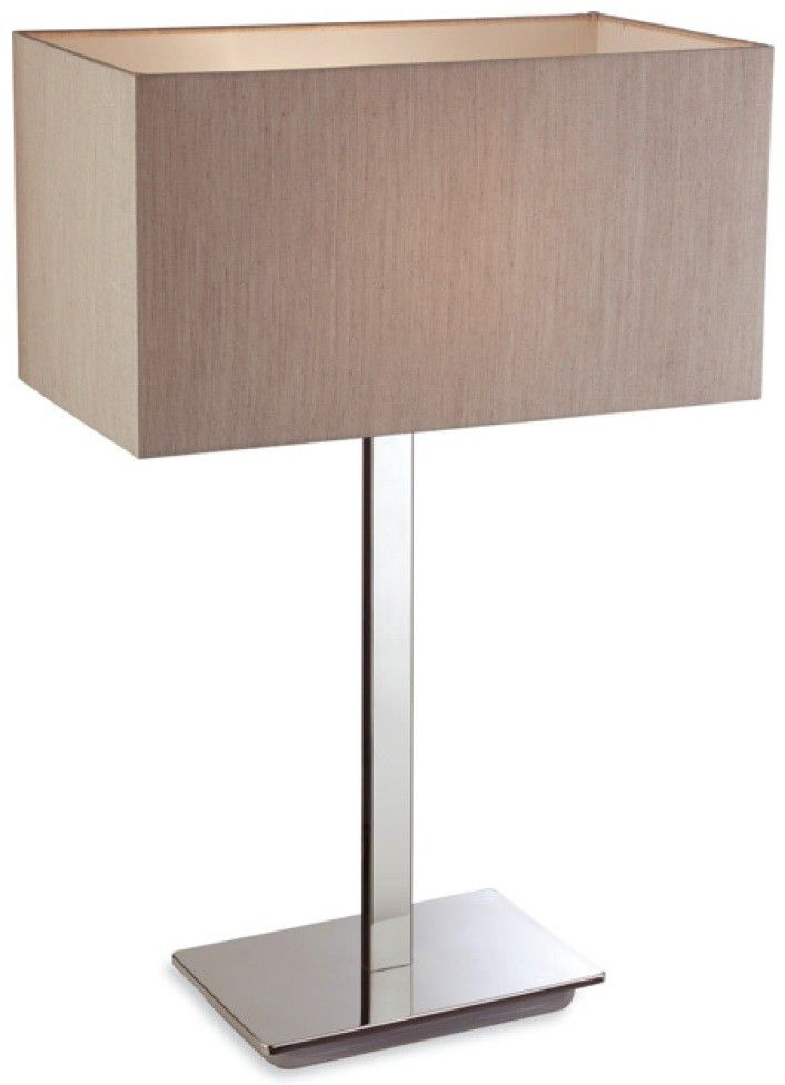 Zen Table Lamp With Oyster Shade