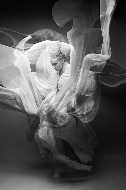 Frank Wiktor - Fashion Photography - Natural Disasters - Tsunami/Avalanche Concept Ideas