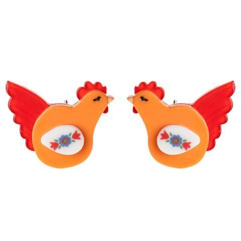 Hattie's Hens Earrings