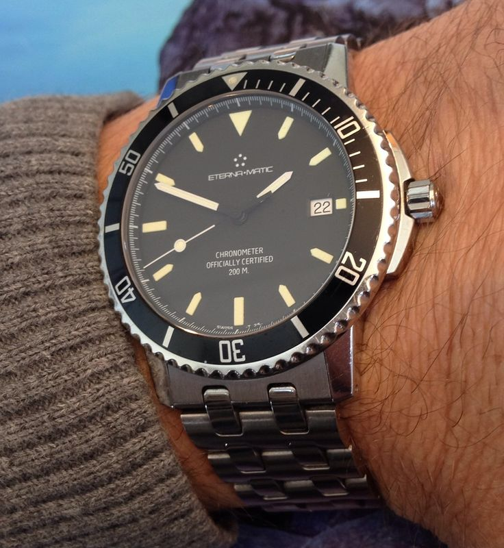 Vintage Eterna Matic Chronometer Diver   Watches in 2019 ...