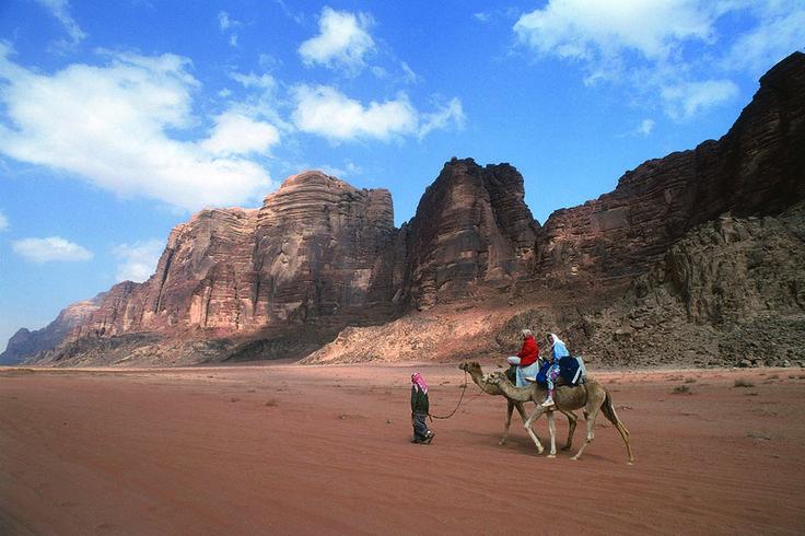 Camels Ride in Wadi Rum http://www.jordantoursmakers.com/#!wadi-rum/c224