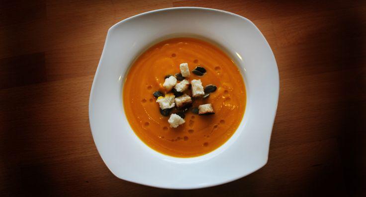 Pumpikin cream soup