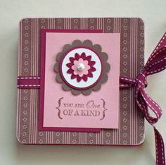 February's Scrapbook Club Project-Squash Book - DOstamping with Dawn, Stampin' Up! Demonstrator