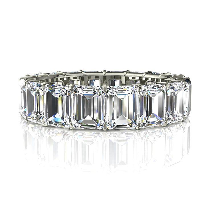 Or Blanc Ou Platine Pour Alliance : Meilleures id?es ? propos de diamants taille ?meraude