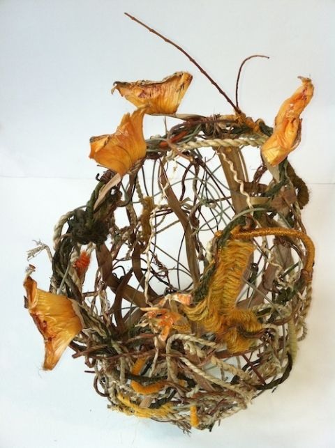 Basket Weaving With Leaves : Best basketry vessels images on baskets